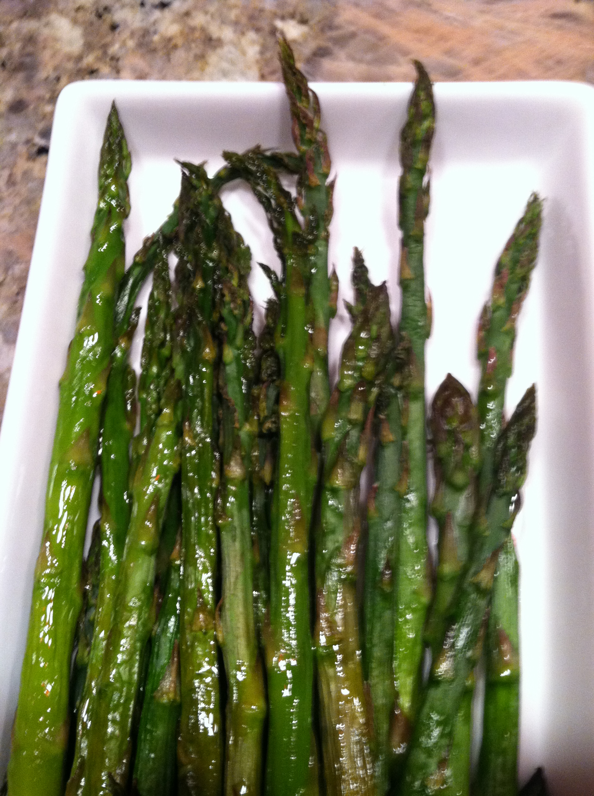 roasted asparagus with meyer lemon olive oil (2)