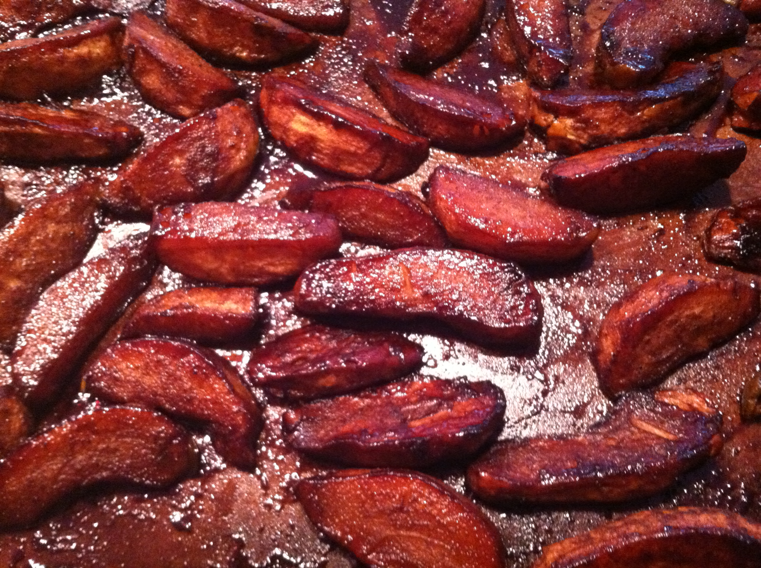 Slow Roasted Balsamic Apples and Pears